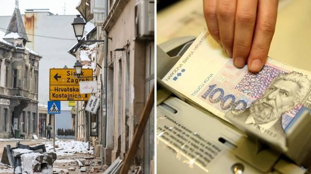 Pogođenima potresom nude se rizični zajmovi: Sigurnije je uzeti zajam uz kontrolu HNB-a