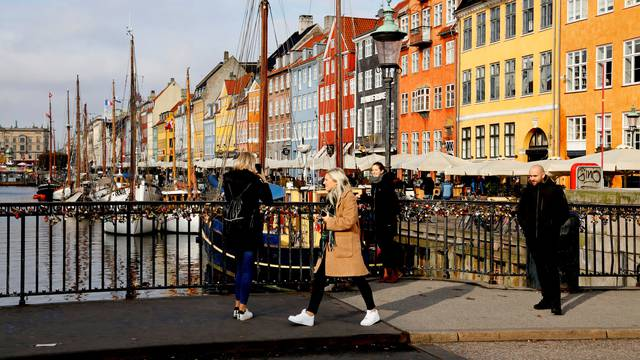 FILE PHOTO: A view of the Nyhavn district in Copenhagen