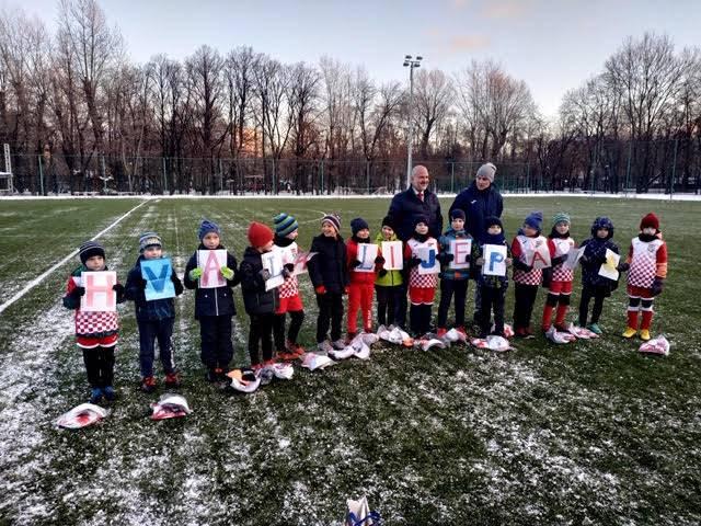 Klinci iz Rusije su u hrvatskim dresovima: Vole naš nogomet