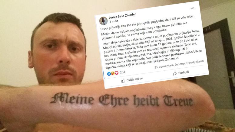 Juricu izrezali iz emisije, sad se ispričava: 'Tetovaže su posveta'