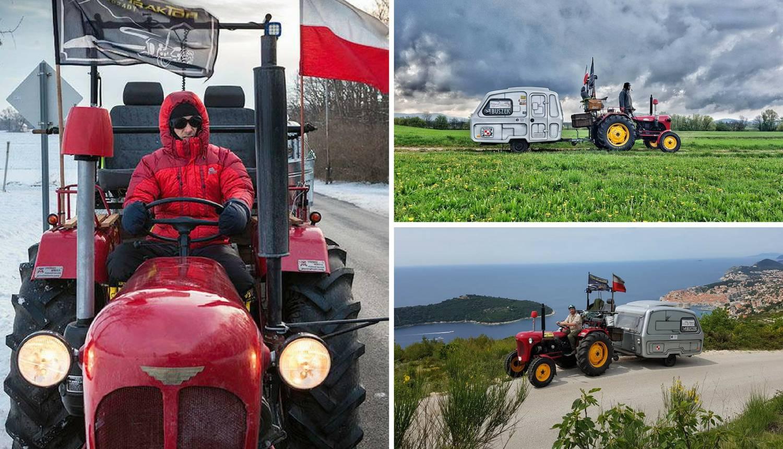 Putuju traktorom oko svijeta, stigli i do bosanskih piramida
