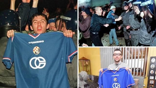 'Ja sam taj s fotke! Tukli su na sve strane, nismo dali Dinamo!'