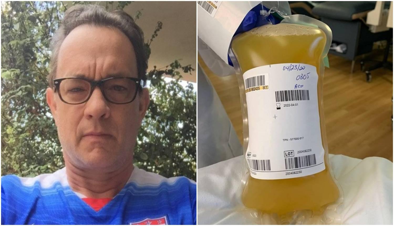 Pomaže u borbi protiv korone: Hanks donirao krvnu plazmu