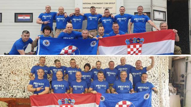 Hrvatski vojnici podržali plave: Dinamo gledaju i u Afganistanu