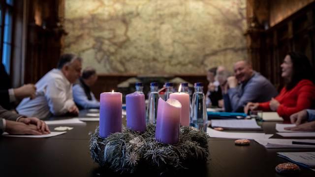 Orban  objavio sliku: Mađarska na karti 'progutala' Hrvatsku
