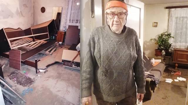 Stjepanu i sinu hitno treba kontejner! Petrinja se trese, a oni sada žive u trošnoj garaži