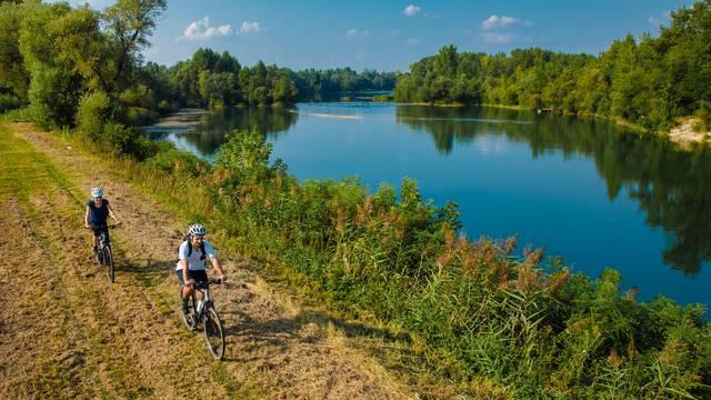 Bicikliraj za prirodu duž Drave, Mure i Dunava kroz pet zemalja