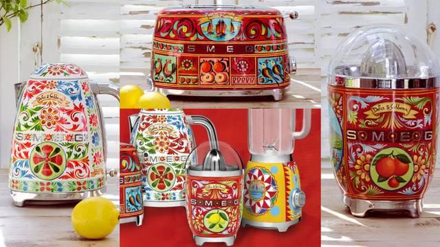 Dolce & Gabbana potpisuju hit kolekciju kuhinjskih aparata