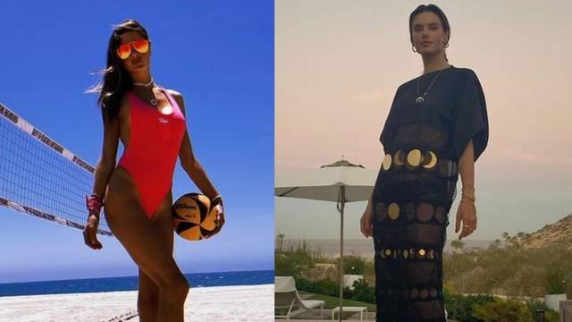 A. Ambrosio nosi hit Baywatch badiće i duge lepršave haljine