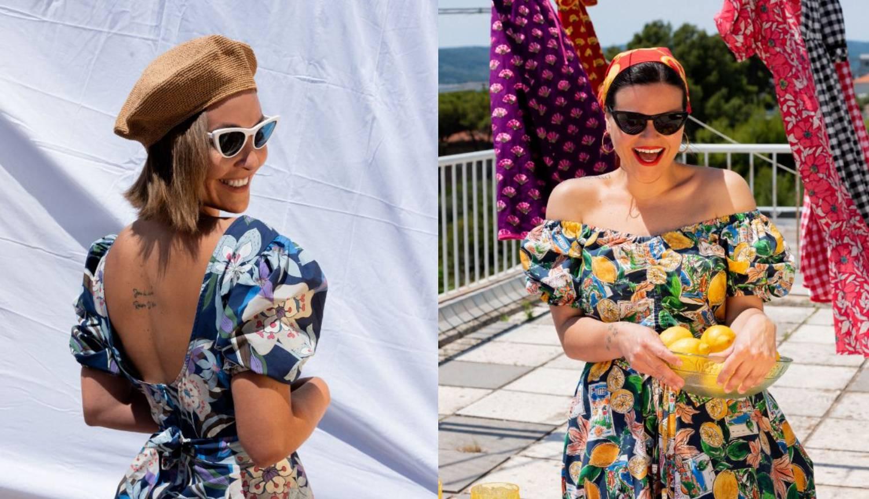 Sunce, marame, limuni i retro kombinacije: Slatka nova kolekcija Anamarije Asanović