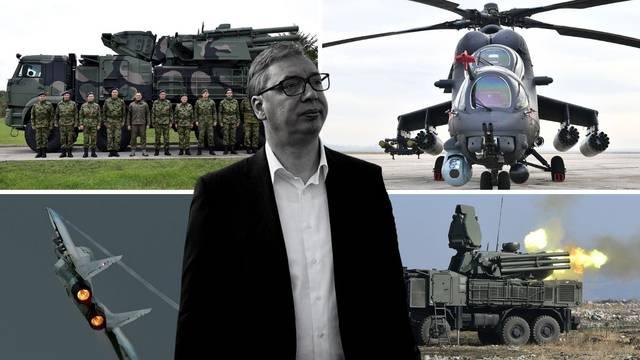 Strategija obrane 'srpskog sveta': Ovo je naoružanje koje je Vučić nabavio iz inozemstva