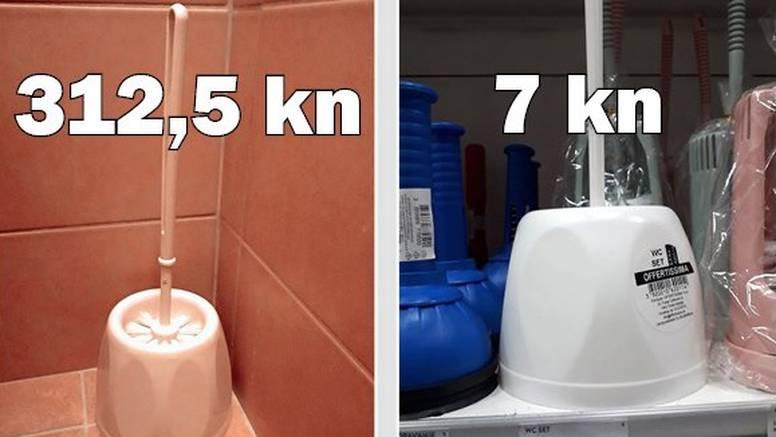 Zagreb: Mjesni odbor na Savici ima WC četku od 312,50 kuna!