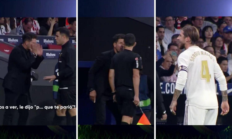'Ku*vin sine': Ramos vrijeđao suca, Cholo poludio i napao ga