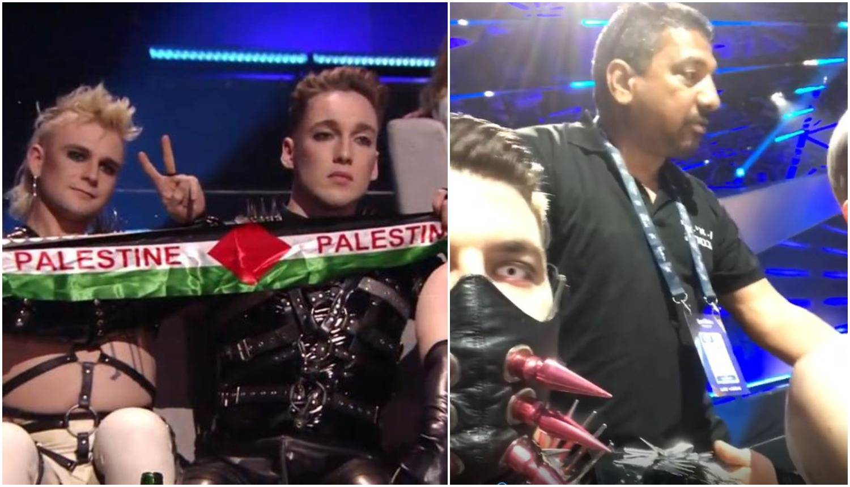 Mahali zastavama Palestine: 'Odlučujemo o kazni za Island'