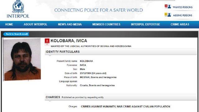 Interpol raspisao tjeralicu za bivšim pripadnikom HVO-a