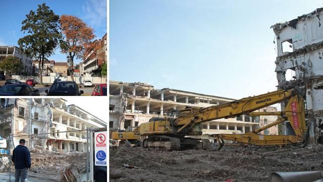 Pogledajte kako se ruši nekoć slavna tvornica na mjestu koje će biti stanovi od 5000 eura
