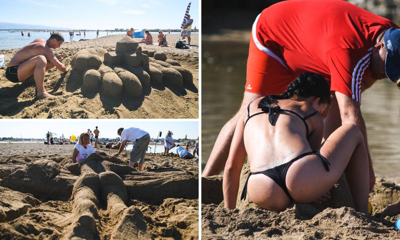 Prekrasne skulpture od pijeska uljepšale poznate plaže u Ninu