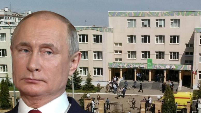 Nakon pokolja sedmero djece u školi  Putin je naredio izmjenu pravila o nošenju oružja u Rusiji