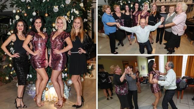 Plesačice umirovljenike naučile salsu: 'Podigle ste nam moral'