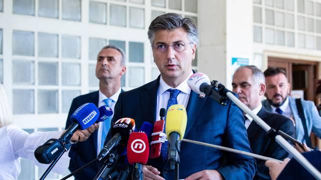 Plenković o protivnicima Stožera: 'Gledam tko što piše, govori, stvari su jasne kao dan'