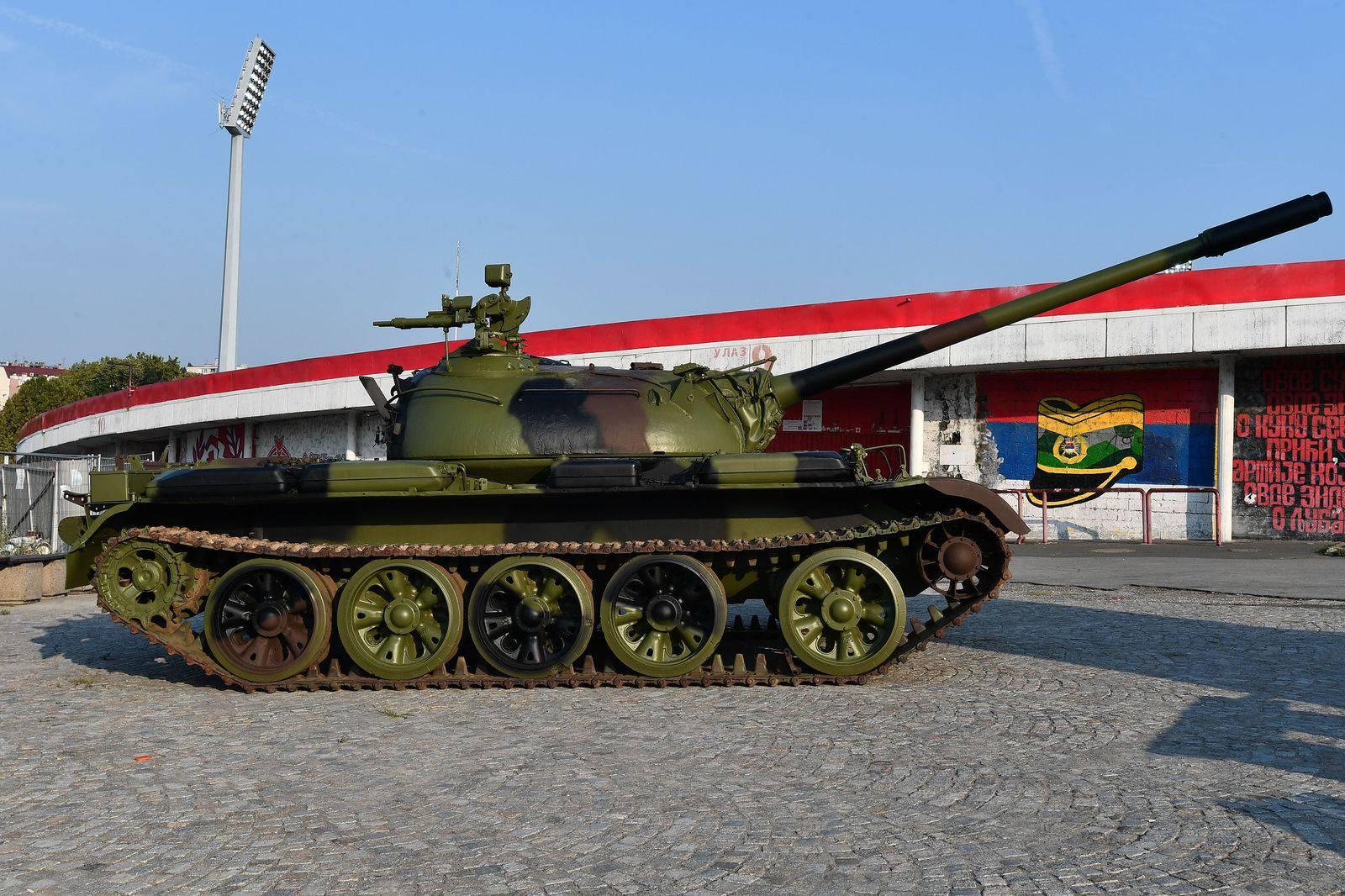 Zvezdaši uvjeravaju: Tenk nije iz Hrvatske, s vojnog je otpada