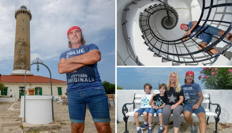 'Na svjetioniku je usamljeno, ali moja obitelj ne želi odavde'