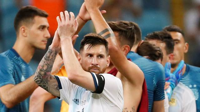 Copa America Brazil 2019 - Group B - Qatar v Argentina