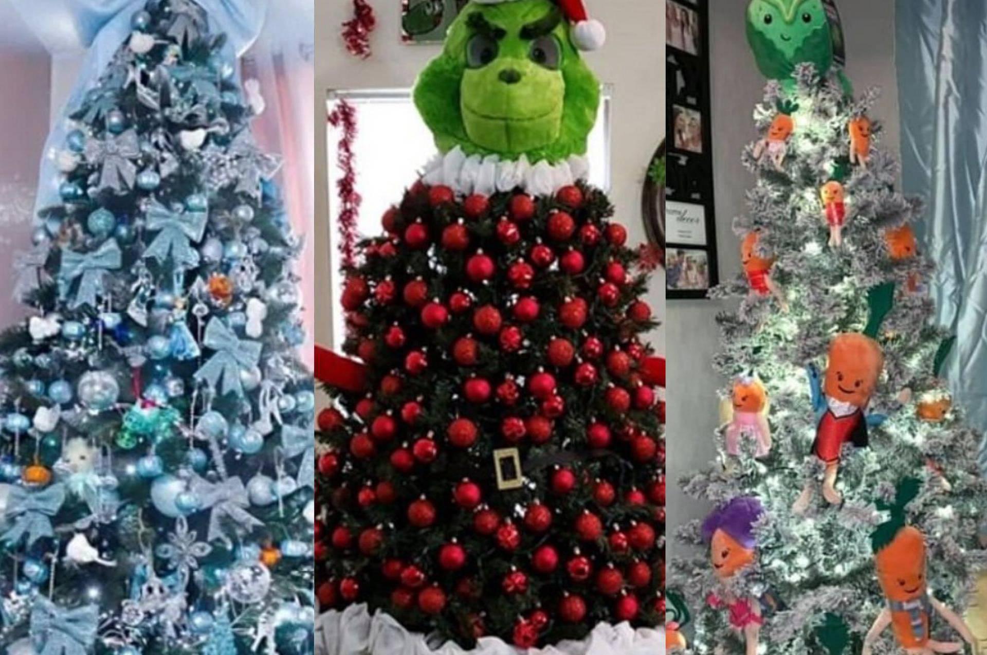 Fanovi raznih filmova pokazali svoja originalna božićna drvca