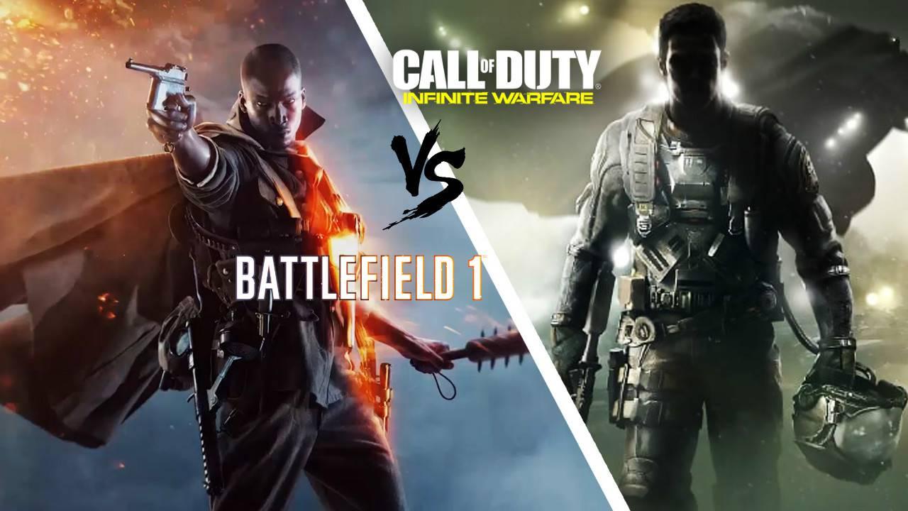 Battlefield 1 ili CoD: Infinite Warfare - koja je igra za vas?