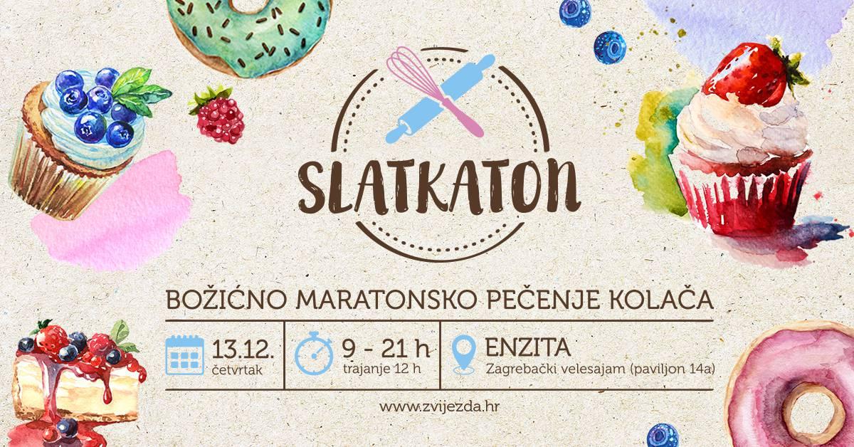 Zvijezda Slatkaton - maraton pečenja kolača