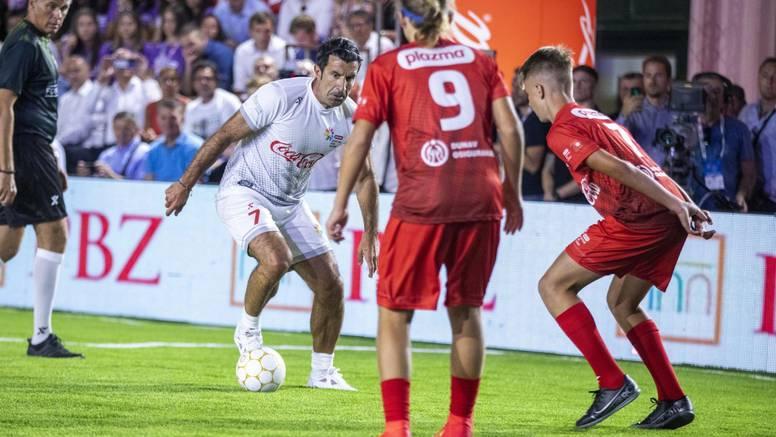 Figo i Boban zaigrali nogomet na Sportskim igrama mladih: Sport povezuje, sport je ljubav