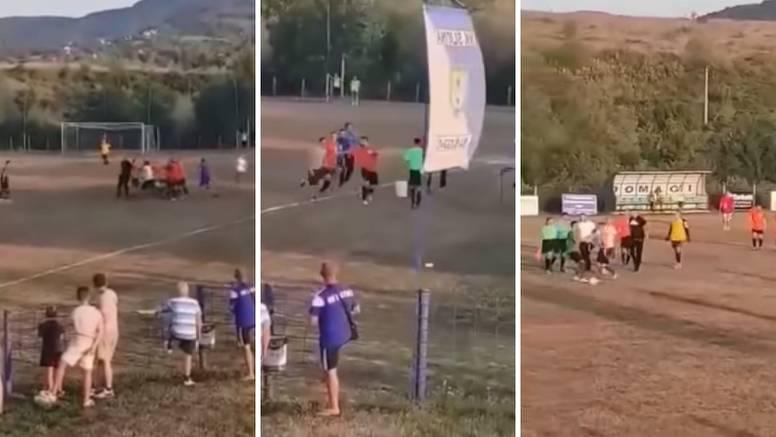 Kaos u Bosni: Iznajmili stadion pa premlatili suca i sutkinju...
