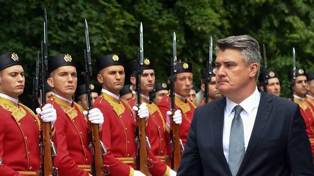 Milanovića u Cetinju ugostio predsjednik Milo Đukanović