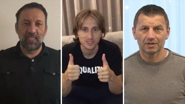 Luka Modrić odazvao se akciji za bolesnog navijača Partizana