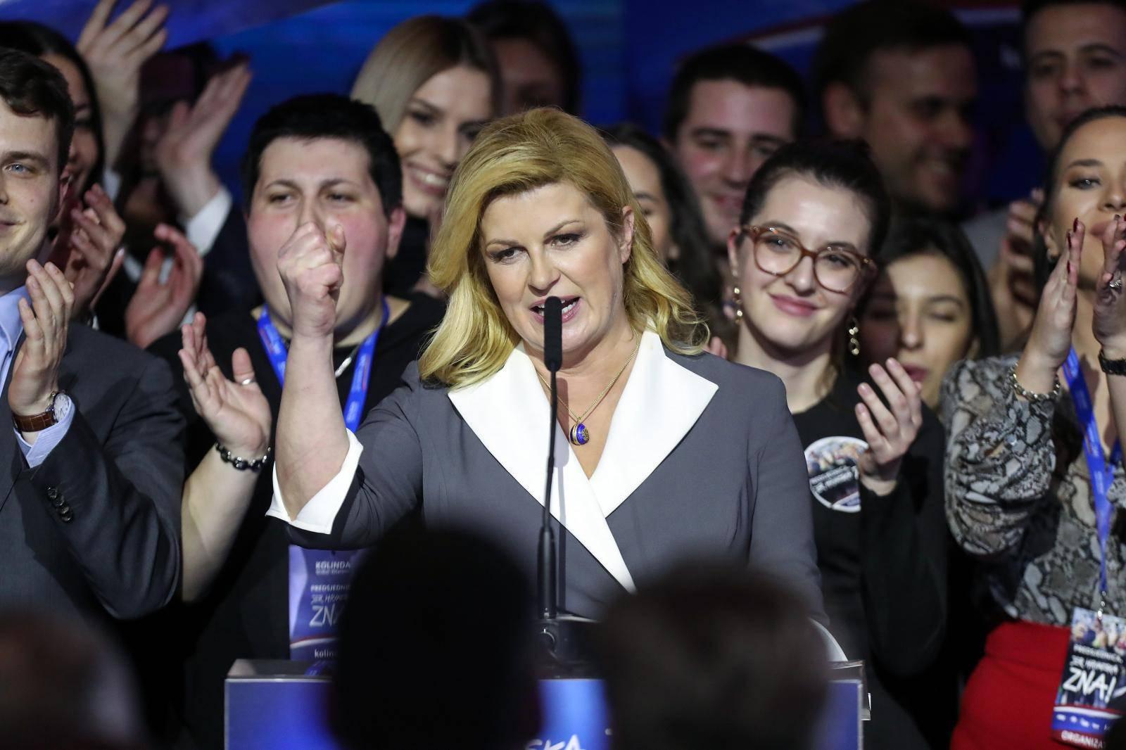 Zagreb: Izborni stožer Kolinde Grabar-Kitarović