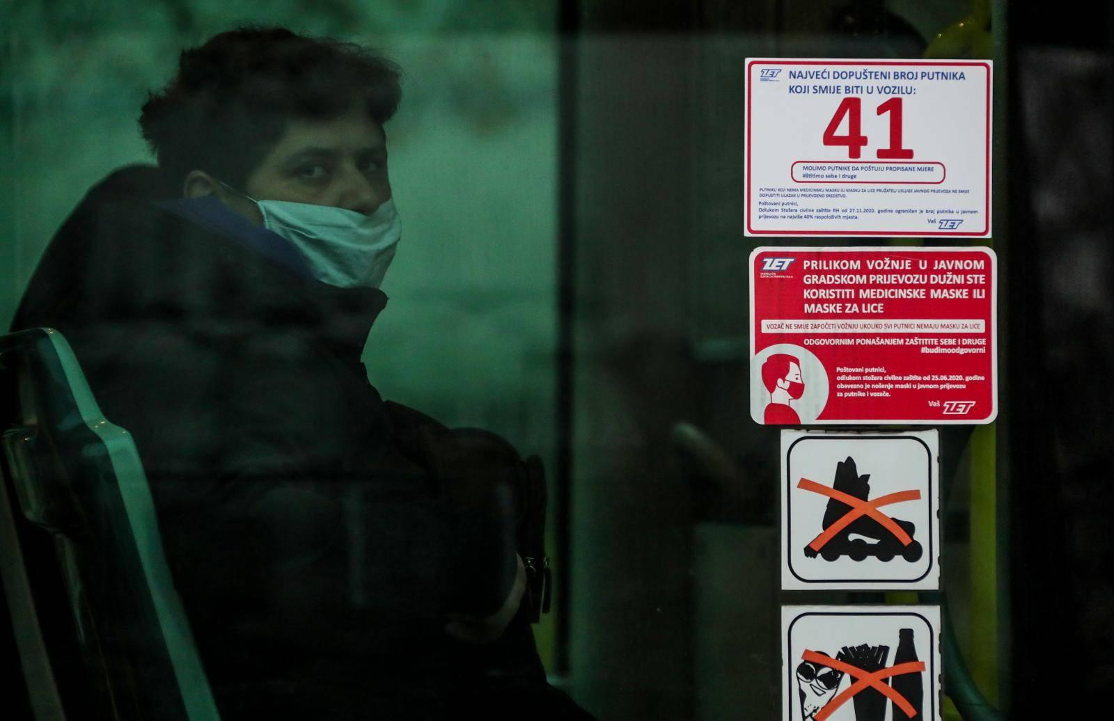 Zagreb: Od danas su na snazi i nove mjere u javnom prijevozu
