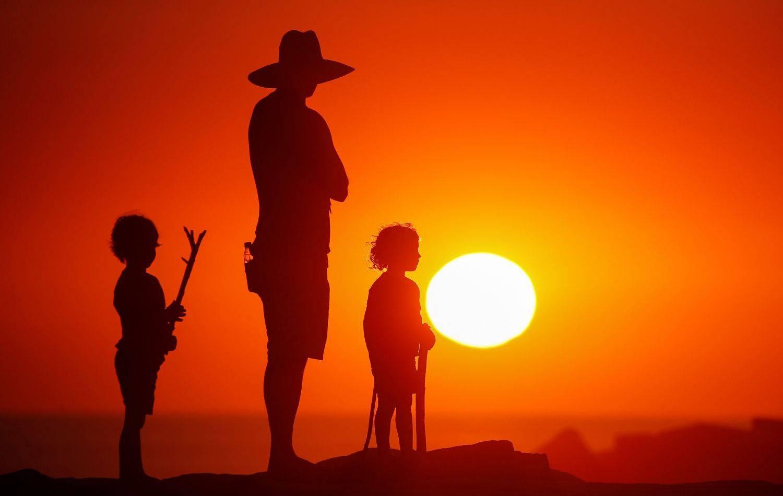 Igra svjetla i sjene uz ocean u Kaliforniji: Otac je sa djecom uživao u božanskom prizoru