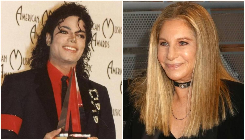 Streisand branila Jacksona pa se predomislila: 'Oprostite mi'