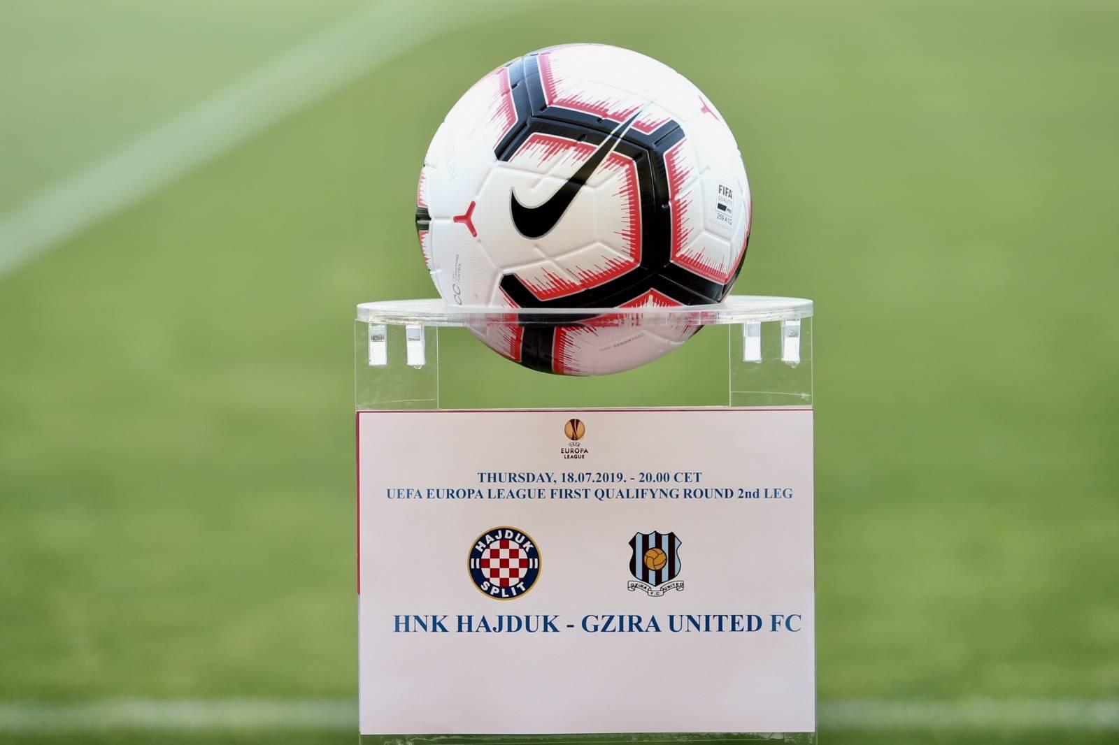 Split: Kvalifikacije za Europski ligu, Hajduk - Gzira United