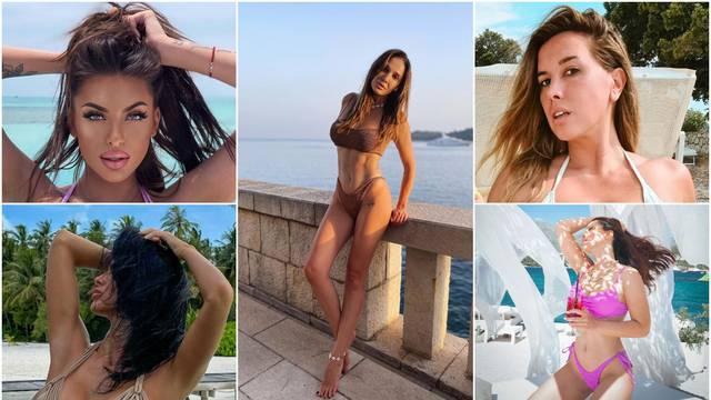 Seksi Hrvatice: Instagram 'gori' od vrućih  fotki u mini badićima
