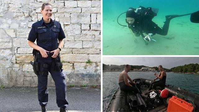 Alesandra je prva žena ronilac u MUP-u: Tragat će i spašavati