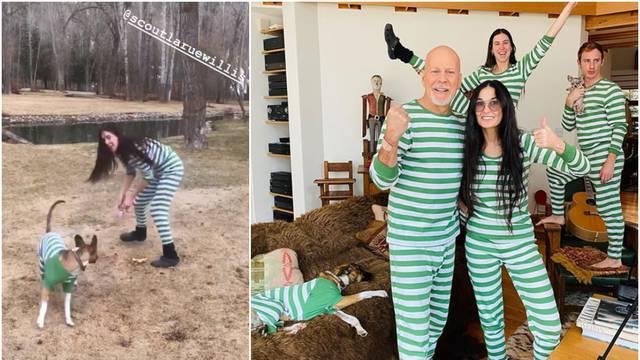 Demi i Bruce napravili pidžama party: Njegova žena se ne buni