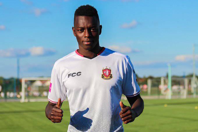 Senegalac iz Donjecka u Goricu: Trenirao me je Fabio Grosso,  a želim igrati poput Lukakua...