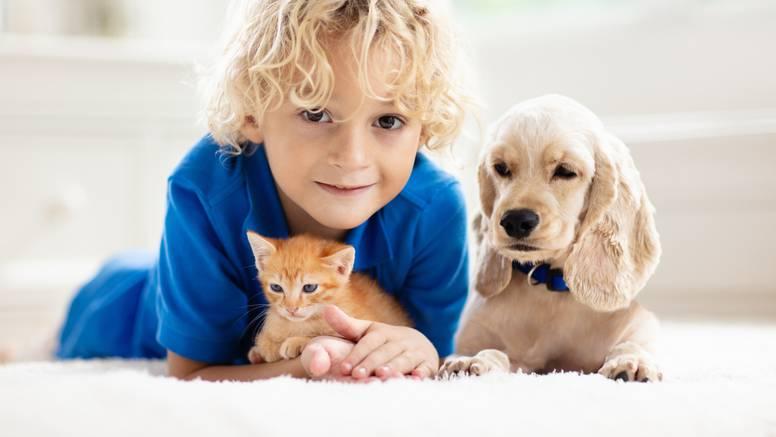 Ljubimci smanjuju stres kod djece, potiču ih da budu aktivna