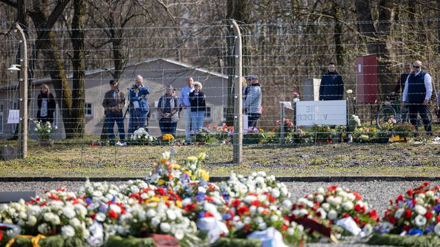 Commemoration of the 75th anniversary of the liberation of Buchenwald concentration camp