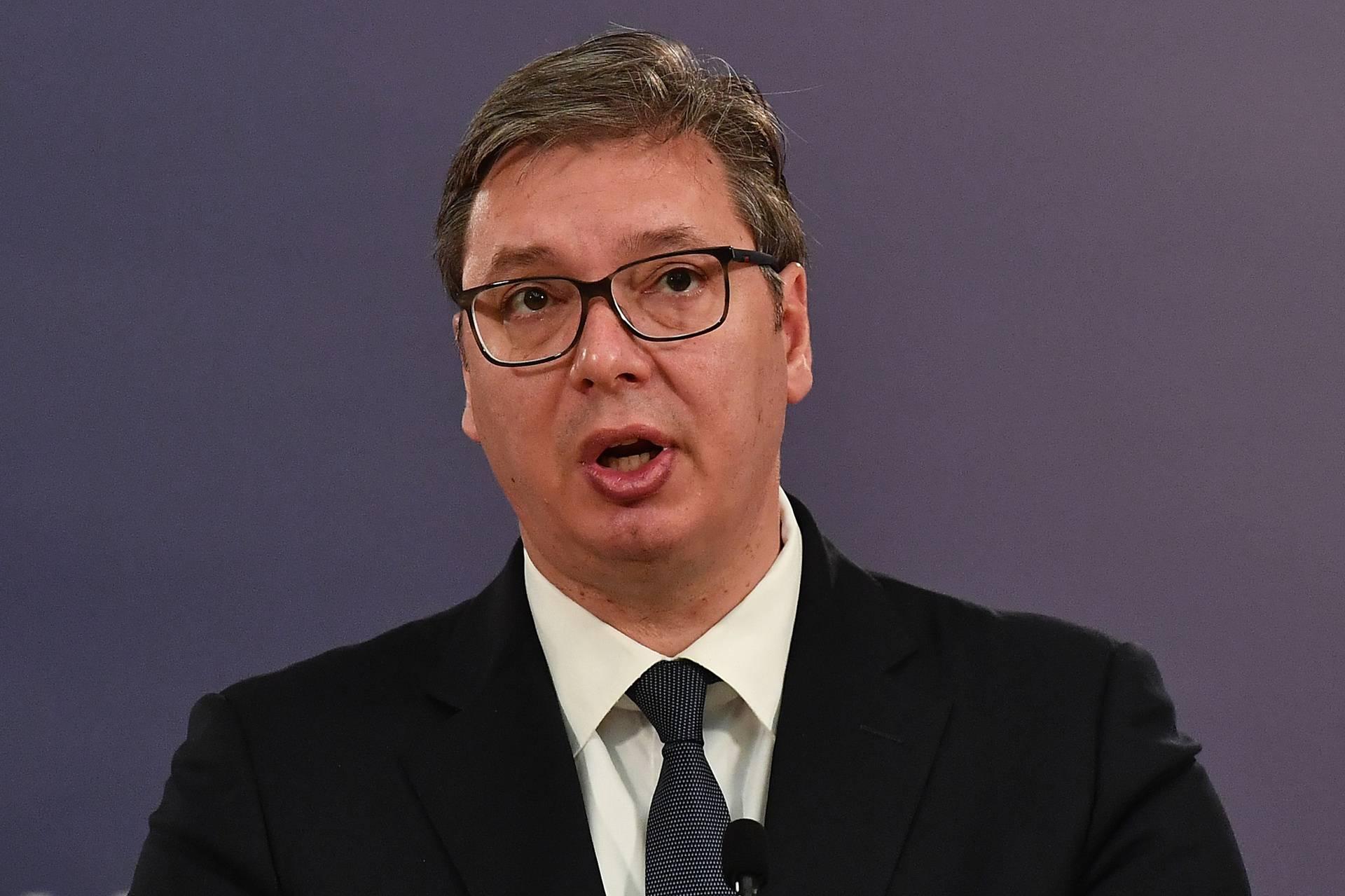 Vučić uoči razgovora o Kosovu: U Bijelu kuću ne idem s bijelom zastavom, tko za što će ponuditi