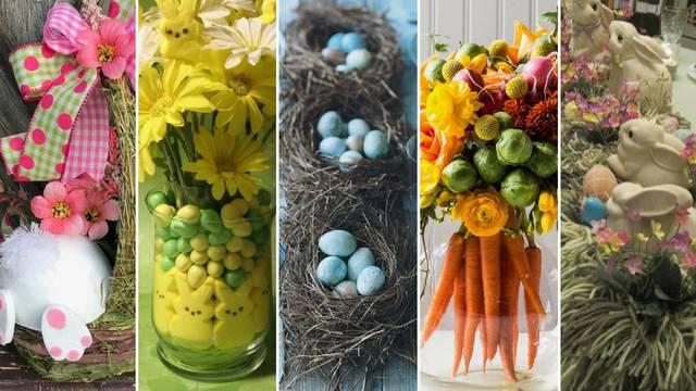 20 ideja kako urediti uskršnji stol - od šarenih jaja do balona