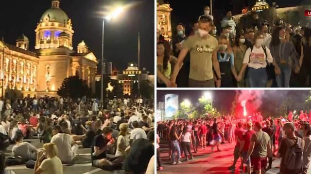 Mirni prosvjedi u Beogradu