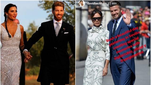David Beckham na Ramosovom vjenčanju: 'Baš prekrasan dan'