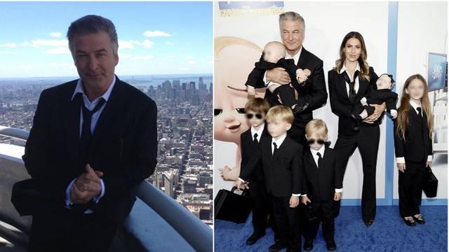 Dolazak sa stilom: Alec Baldwin na premijeru novog filma stigao sa suprugom i šestero mališana